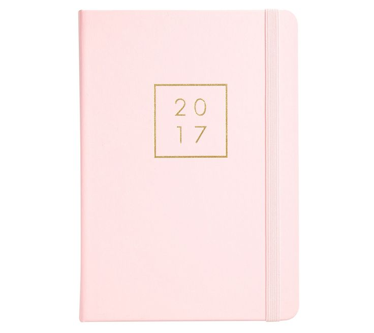 Make time for the enjoyable things with this stylish 2017 A5 Daily Bonded Leather Diary in super cute Pink Lavender. Organise and plan ahead with daily and monthly planners, gold foil stickers and more. Then use the specially designed pages to keep track of all your Addresses, Expenses, favourite places and more.  As a kikki.K Diary Lover, we'd love to treat you to exclusive and delicious offers each month of the year. To find out more, click here.