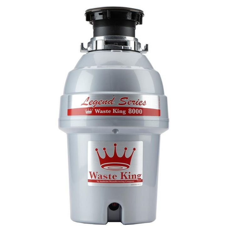 Waste King Legend 8000 Best Budget Best Rated garbage disposal  If you want something reliable, trustworthy, then there is nothing better than Waste King continuous feed garbage disposal. It comes from one of the most renowned garbage disposal brands available on the market, namely Waste King.