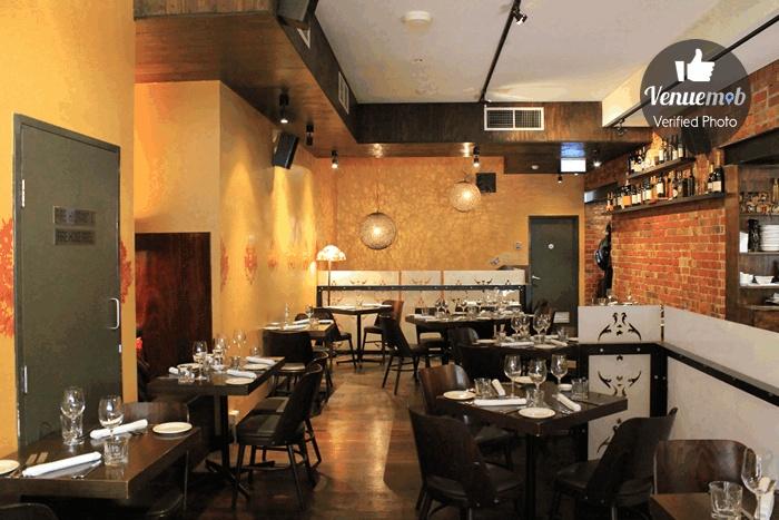 Dining Room at The Mill Restaurant