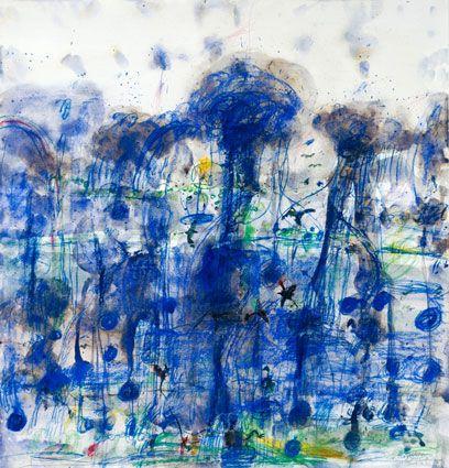 © John Olsen ~ Wet Season ~ Limited edition fine art reproduction at Olsen Irwin Gallery Sydney Australia