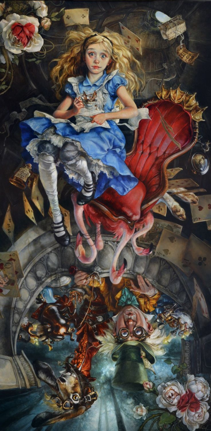 Heather Theurer | Alice in Wonderland | We're All Mad Here