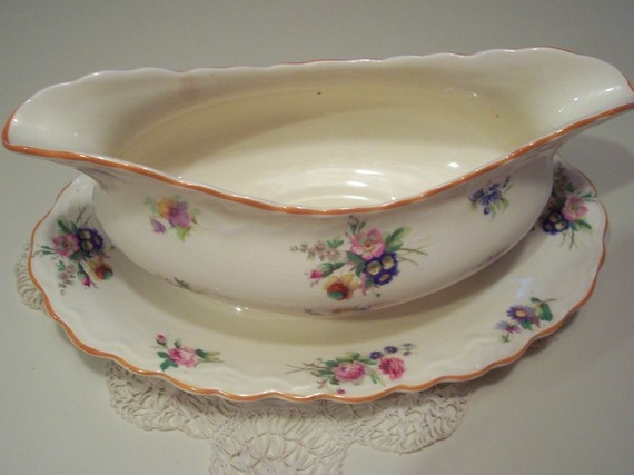 Beautiful Hall Gravy Boat