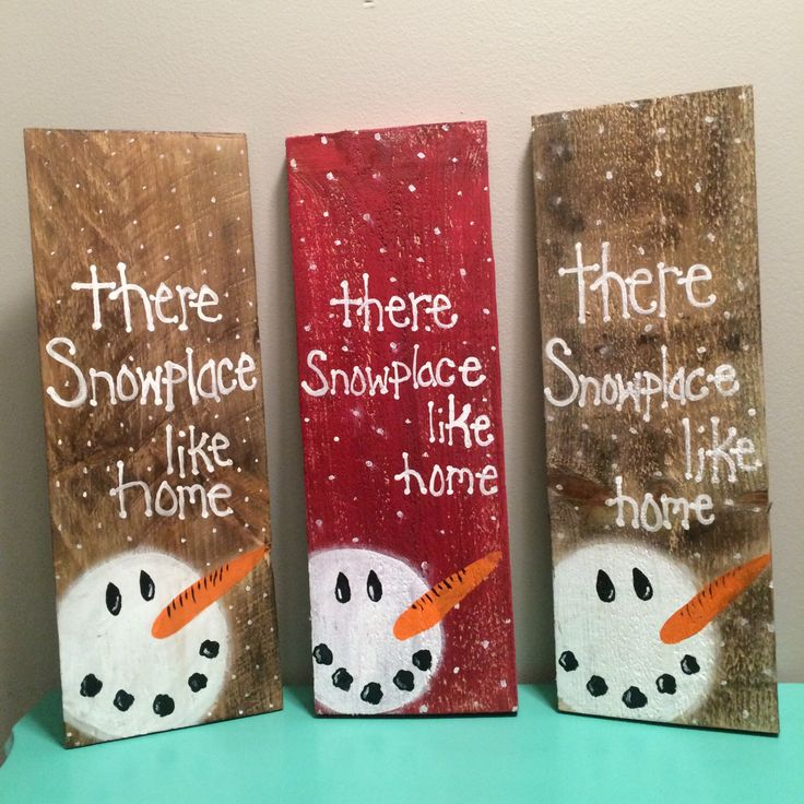 Snowman Pallet sign, Christmas Sign, Snowman decor, Hand painted Snowman decorations by RusttooRuffles on Etsy https://www.etsy.com/listing/452507924/snowman-pallet-sign-christmas-sign More