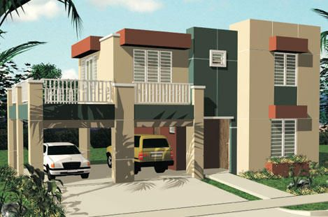 Pintura verde para exteriores fachadas de casas buscar for Colores elegantes para exteriores