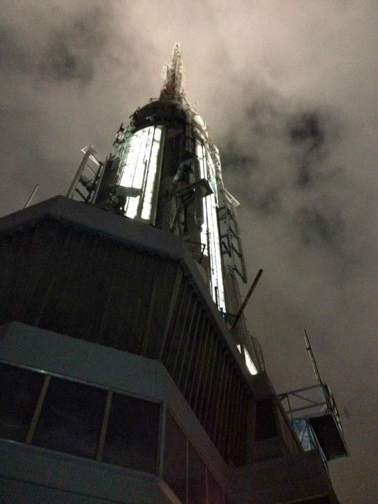 Liz Fernstrom - our CRM Director of Operations - decided to look up and take a picture when she was touring the Empire State Building!Empire State