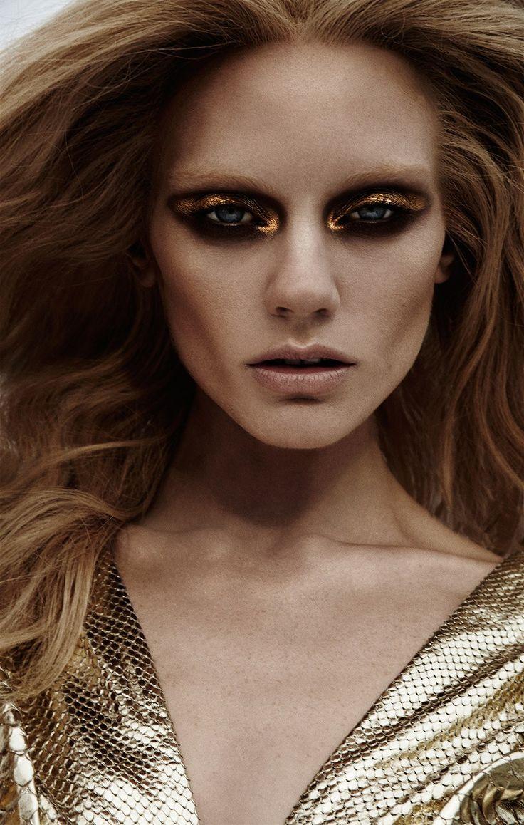 Metallic Fashion Dry Lake Bed Location Shoot with model Caroline Wilson- metallic makeup, blue sky, desert   NEW YORK FASHION BEAUTY PHOTOGRAPHER- EDITORIAL COMMERCIAL ADVERTISING PHOTOGRAPHY