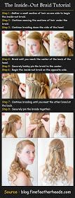 Beauty Tutorials: The Inside-Out Braid