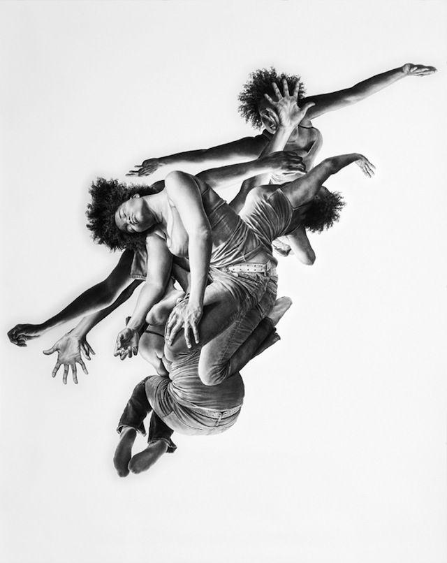 Ich hab ja schon so Einiges an hyperrealistischen Bleistift- und/oder Buntstift-Zeichnungen gesehen und verbloggt, aber diese Artworks von Leah Yerpe aus Brooklyn/New York (es muss der Spirit sein, anders kann ich mir das inzwischen echt nicht mehr erklären!) suchen wirklich ihresgleichen. Die