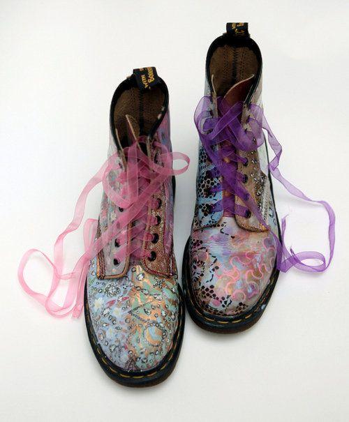 Fairies wear boots.