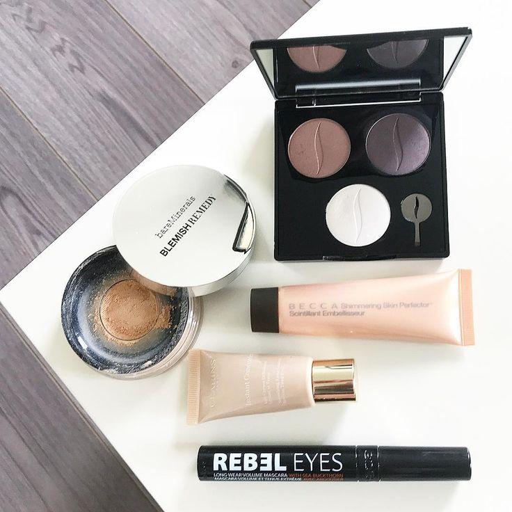 Hezké pondělí všem!�� Dnešní make-up...�� #motd #makeup #bareminerals #blemishremedy #clarins #instantlight #concealer #becca #highlighter #beccacosmetics #sephora #sephoraczechrepublic #eyeshadow #eyeshadowpalette #gosh #goshcopenhagen #goshcosmetics #goshcopenhagencz #mascara #rebeleyes #cosmetics #beauty http://ameritrustshield.com/ipost/1545485459399188171/?code=BVyqtZFBR7L