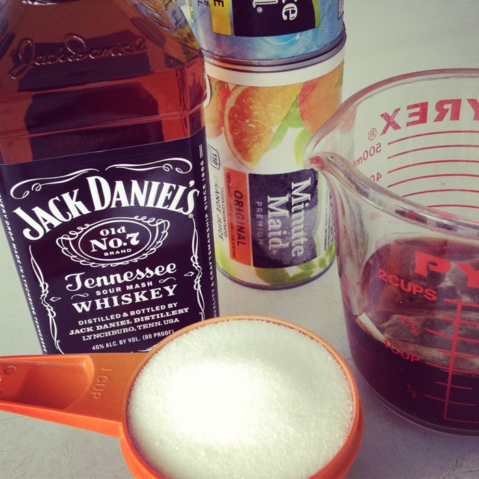 Whiskey Slush Recipe. @Julie Barraza we need to try this the next time ...