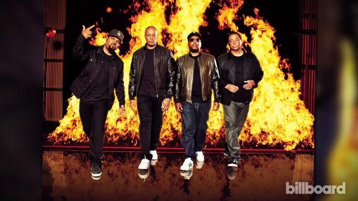 Flame, Billboard, Fire, Ice Cube, MC Ren, Yella, Dr Dre, DJ Yella, NWA, Rap, Rappers, Hiphop, Gangsta, Straight Outta Compton Billboard