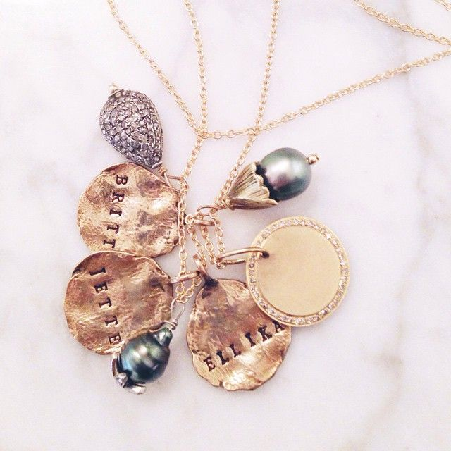 66 best WearYourStory images on Pinterest Name necklace Family