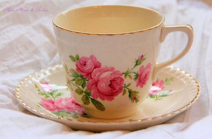 Aiken House & Gardens: Spring Time Afternoon Tea: A pretty teacup makes tea taste better!