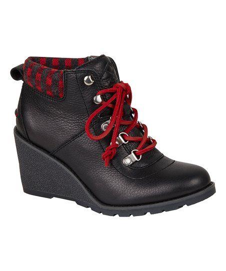 55d8620f4d0f Sperry Top-Sider Black Celeste Bliss Leather Boot - Women