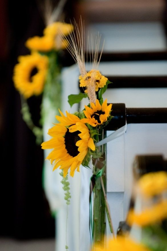 116 best SunflowerThemed Wedding images on Pinterest