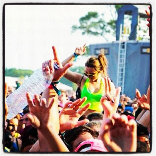 Yours Truly at VELD music festival in Toronto