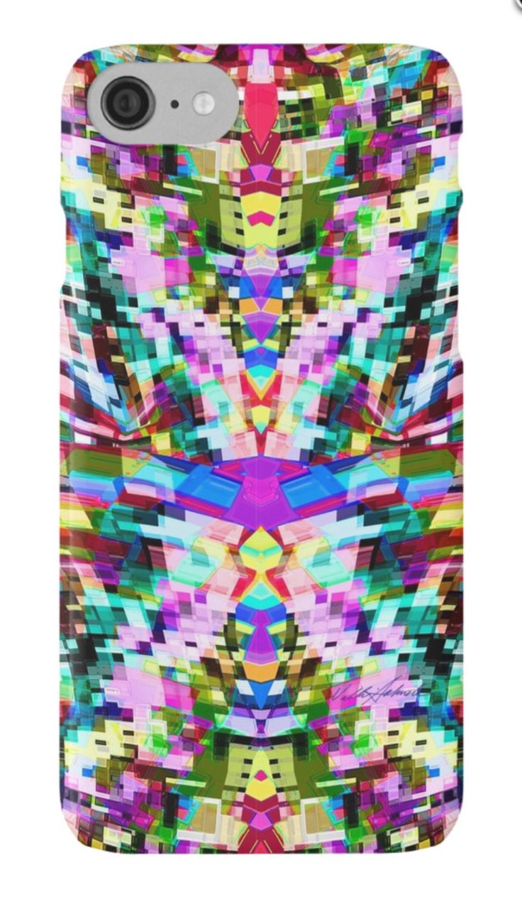 The Flir of Chemicals iPhone Case/Skin by Polka Dot Studio, bright #graphic #abstract #contemporary #geometric #pattern #art on #tech #accessories. #Phone, #laptop and other protective cases that are functional yet #fashionable. Coordinating products available. #iPhone 7 available.