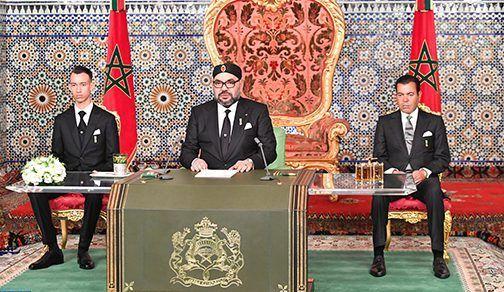 جلالة الملك يوجه خطابا ساميا إلى الأمة بمناسبة الذكرى الـ44