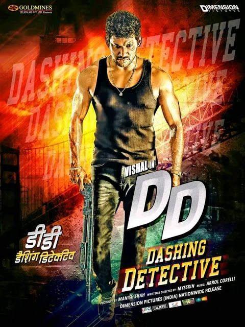 Dashing Detective Thupparivaalan 2018 Org Hindi Dubbed 720p Hdrip