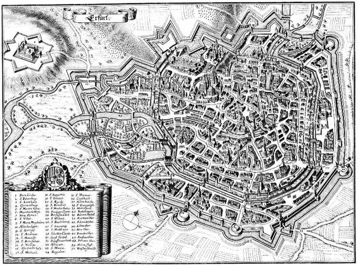 VIA REGIA - News08/2014: Teile der äußeren Erfurter Stadtbefestigung im Bereich des Brühler Tors und dem historischen Verlauf der VIA REGIA bei Bauarbeiten freigelegt.