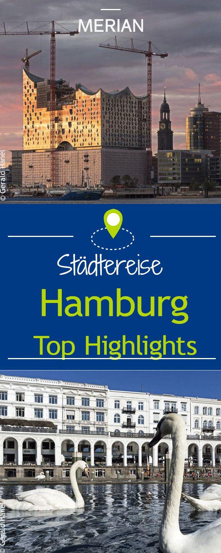 Egal ob Elbphilharmonie, Hafencity, Speicherstadt oder Fischmarkt - wir verraten euch, welche Highlights ihr bei einem Städtetrip nach Hamburg nicht verpassen solltet.