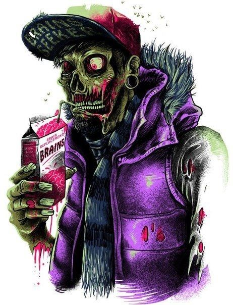 Zombies today have it easy. I remember when, if a zombie wanted a sip of brains, they had to get them fresh squeezed, no matter what. No simply going to the store and picking up a brains box.