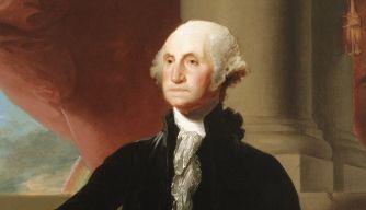 George Washington, 1st President of the United States of America