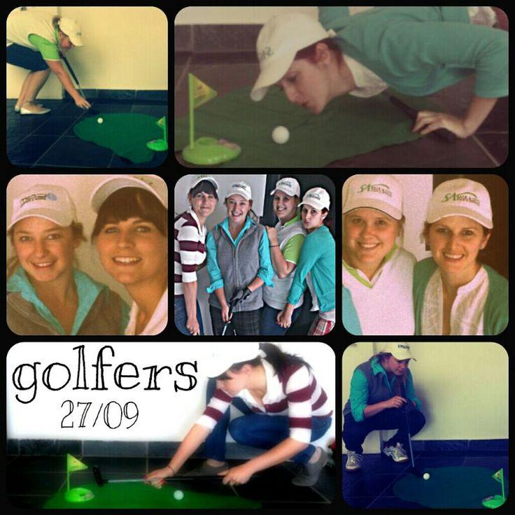 Week 16: Golfers