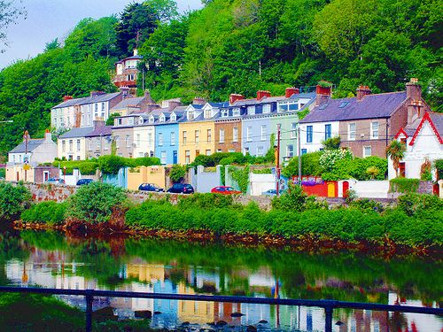 Colourful Irish – Houses in Cork.