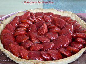 Tarte aux fraises | KKVKVK#56 | Pinterest
