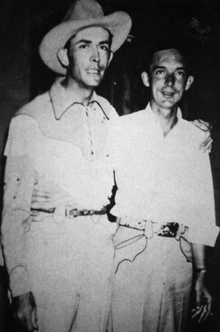 Hank Williams and Ray Price