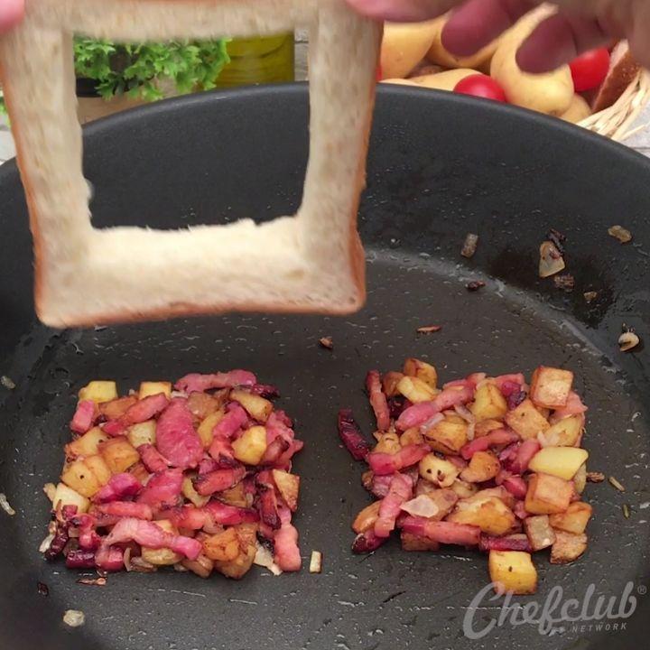 A Patate Omelette L œuf S Est Trouve Un Nid Douillet