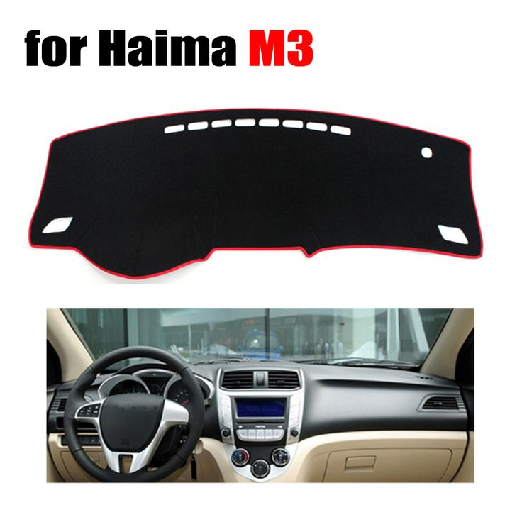 Car dashboard covers for Haima M3 all the years Left hand drive dashmat pad dash cover auto dashboard accessories