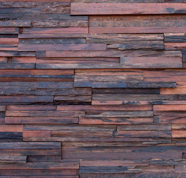 """Jagger"" reclaimed hardwoods - wall panel by Wonderwallstudios"