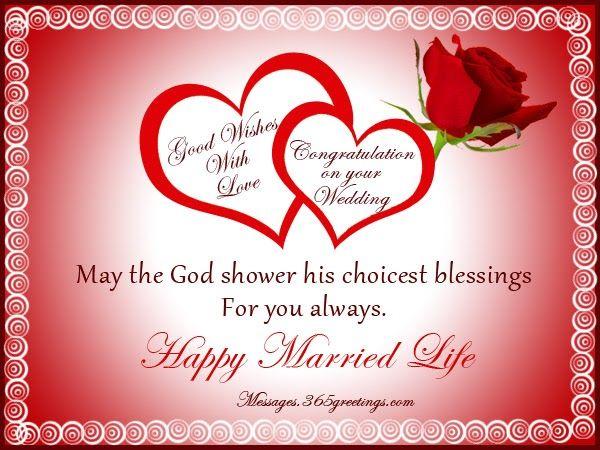 Muslim wedding wishes messages