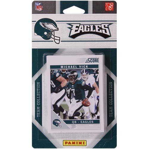 2011 Score Philadelphia Eagles Factory Sealed 11 Card Team Set. Players Include Trent Cole, Nate Allen, Michael Vick, Lesean Mccoy, Kevin…