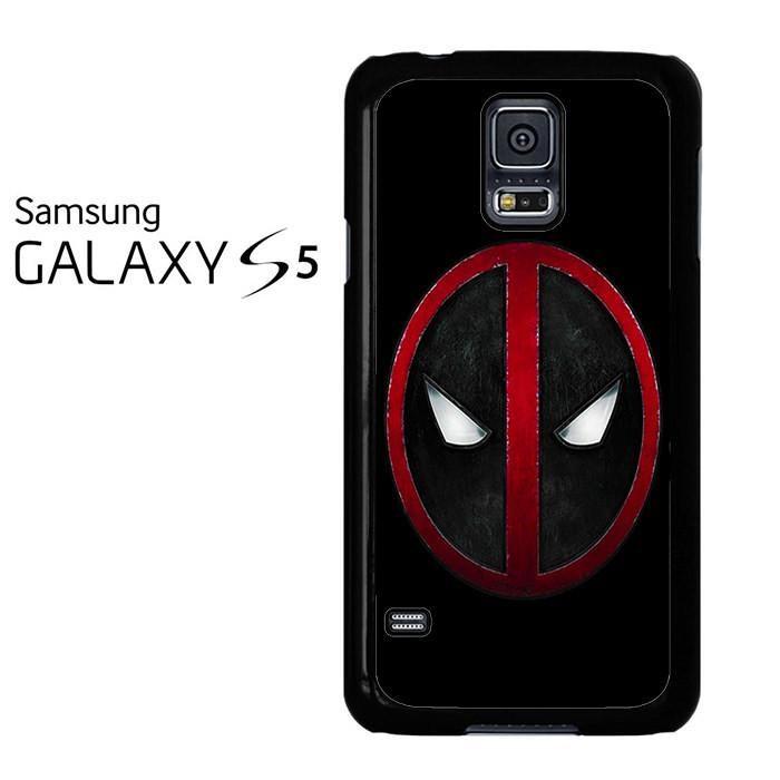 Deadpool Logo Black Samsung Galaxy S5 Case