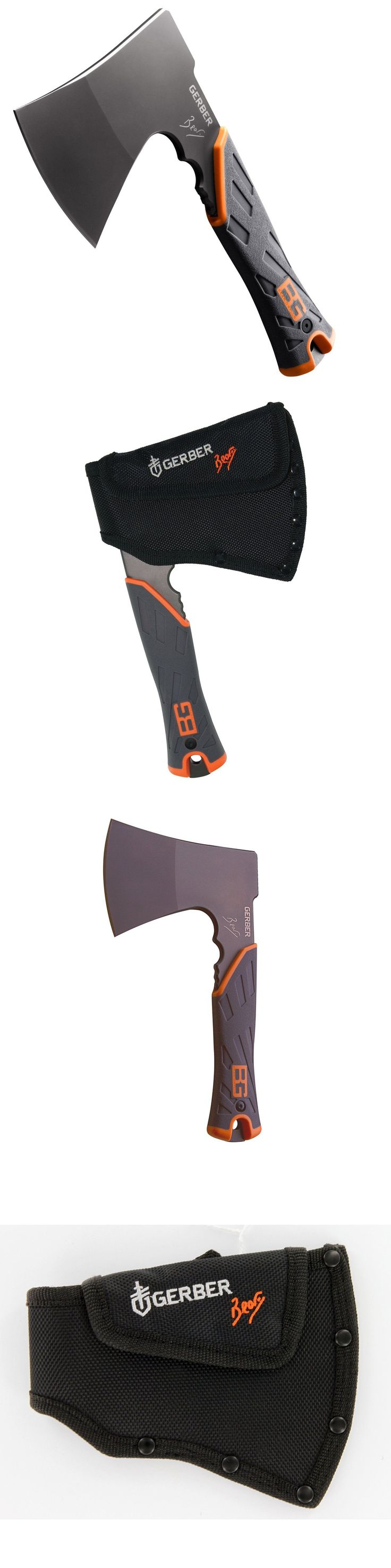 Camping Hatchets and Axes 75234: Gerber Bear Grylls Survival Hatchet With Sheath - Free Shipping -> BUY IT NOW ONLY: $34.5 on eBay!
