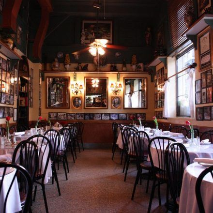 Irene's Cuisine - Italian Restaurants - Admire the attractions on the walls and ceilings and feel at home in New Orleans in Irene's Cuisine