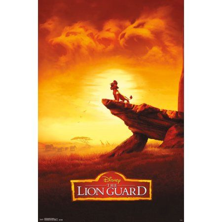 Trends International The Lion Guard Pride Rock Wall Poster 22.375 inch x 34 inch, Multicolor