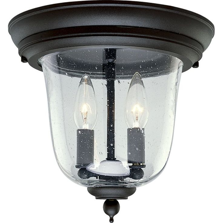 54 best exterior light fixture images on pinterest exterior light progress lighting p5562 ashmore 2 light flush mount outdoor ceiling fixture with textured black outdoor lighting mozeypictures Images