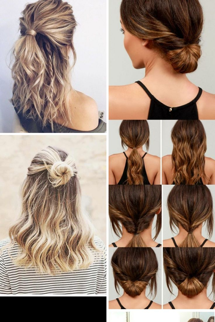17 Trending Easy Hairstyles For Medium Hair Pictures & Ideas
