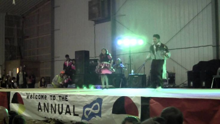 Jigging Contest at Elders Gathering 2013 in Pinehouse,Sk - part 2