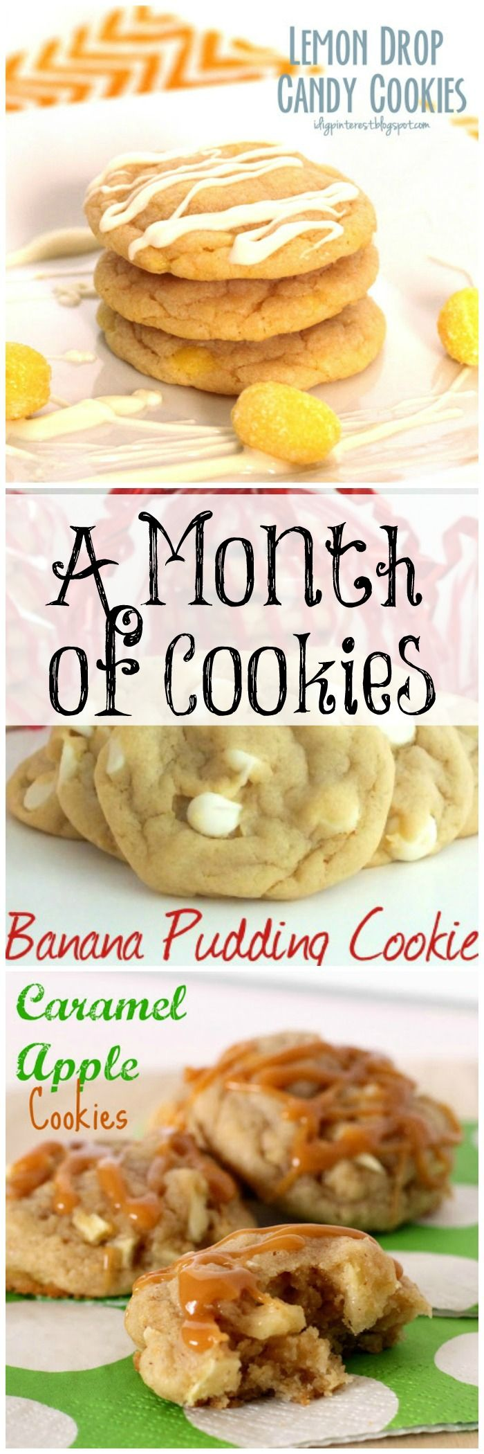 31 Cookies Recipes!! Pumpkin & Apple ones perfect for fall plus many, many more for anytime!