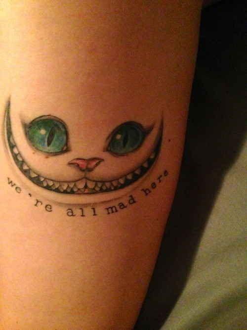 Alice in Wonderland   35 Wonderful Tattoos For Disney Fan(atic)s