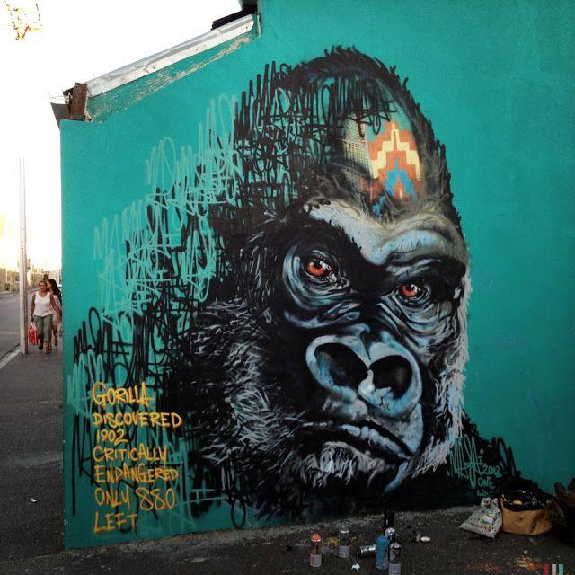 Masai New Murals In Cape Town // South Africa