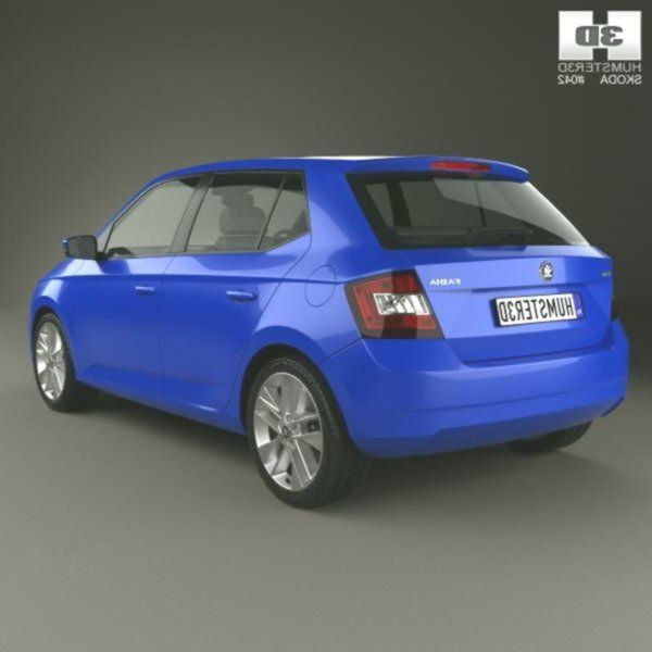 Skoda Fabia Hatchback 2020 3d Model Ad Fabia Skoda Hatchback Model In 2020 Skoda Fabia Skoda Hatchback