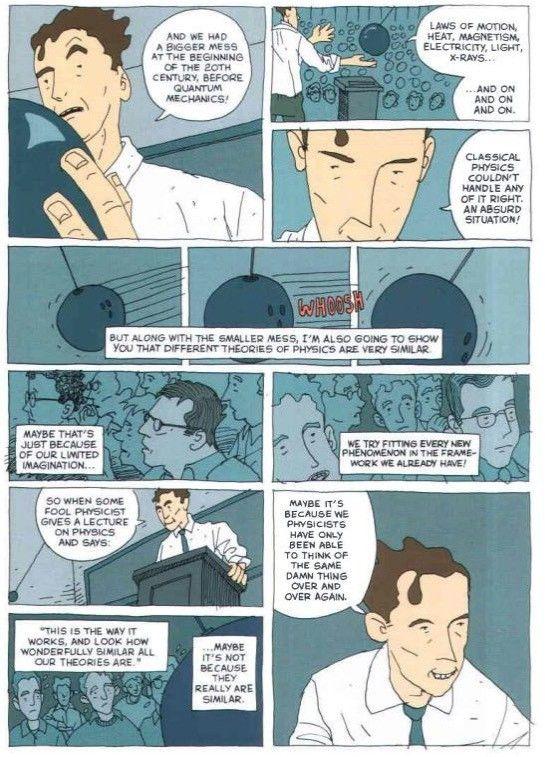 A HQ biográfica de Richard Feynman