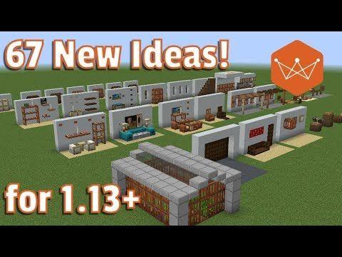 fb2a611f3fa 15 EASY & MODERN Furniture IDEAS - Minecraft - YouTube | Minecraft ...